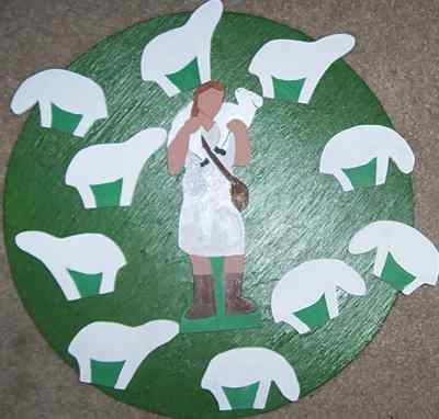 Catechesis Wooden 2-D Figures - Level 1 - Painted