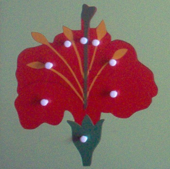 Botany - Montessori Parts of the Flower Puzzle