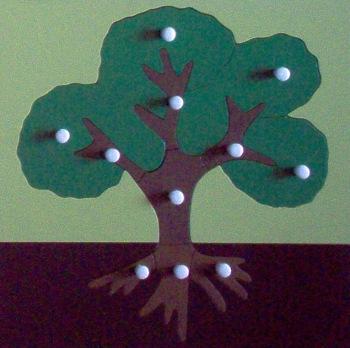 Botany - Montessori Parts of the Tree Puzzle