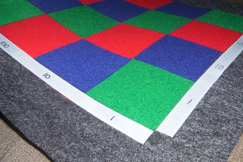 Math - Checkerboard Multiplication - Mat